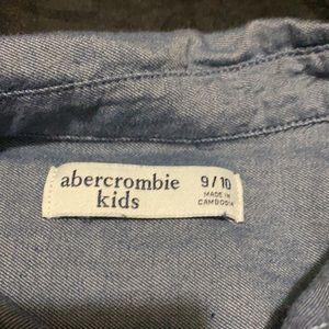 EXCELLENT💙Abercrombie kids boys long sleeve shirt